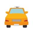 taxi cab car vector image