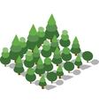 Forest grove natural vector image