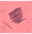 Hearts seamless vector image
