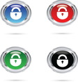 LOCK ICON resize vector image
