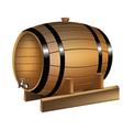 Barrel of wine vector image