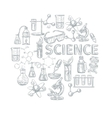 Chemistry Concept Composition vector image