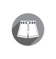 Shorts icon isolated vector image