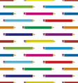 colour pencil background vector image