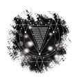 magic alchemy symbol Abracadabra geometric vector image