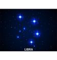 Set of Symbol Zodiac Libra vector image
