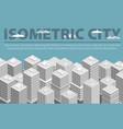 city-isometric vector image