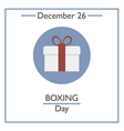 Boxing Day vector image vector image
