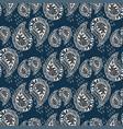 Ornamental pattern vintage texture seamless vector image
