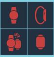 smart watches set vector image
