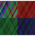 set of line backgrounds vector image