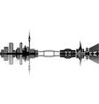 Auckland skyline vector image