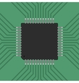a microcontroller CPU Processor vector image