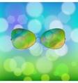 Colorful Sun Glasses vector image