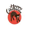 Cat Halloween vector image