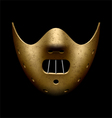 Scary Halloween mask vector image