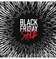Black friday Poster Advertising design template vector image vector image