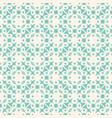 geometric floral ornamental pattern seamless vector image