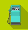 petrol filling stationoil single icon in flat vector image