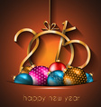 2015 New Year and Happy Christmas background for vector image