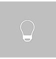 Led Bulb computer symbol vector image