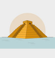 maya culture design vector image