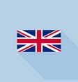 union jack or united kingdom flag vector image