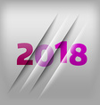 Numbers Background 2018 vector image