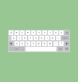 Computer Keyboard icon vector image