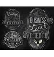 Elements Restaurant vector image