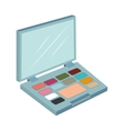 palette make up eyes design isolated vector image