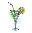 wine tankard vector image