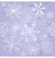 Christmas violet repeating pattern vector image