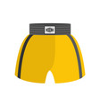 boxing shorts isolated boxer clothing for athlete vector image