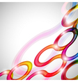 Curls abstract background in eps10 format vector image