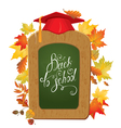 back to school board 380 vector image