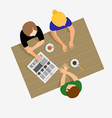 Girls gossiping Girls communicate Girls talk vector image