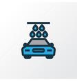 carwash colorful outline symbol premium quality vector image