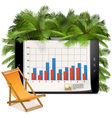 Business and Vacation Concept vector image