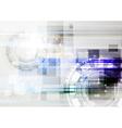 Light hi-tech card vector image vector image