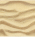 Sand summer beach seamless background vector image