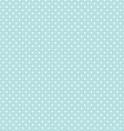 Blue Polka Dot Seamless Pattern Background vector image