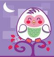 cute-Owl vector image