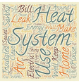 home energy systems 1 text background wordcloud vector image