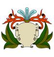 vintage emblem badge vector image