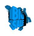 big sale discount vector image vector image
