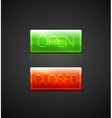 open close glass plates vector image