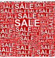 Background of sales2 vector image vector image