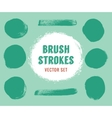 Set of brush strokes Colour is editable vector image