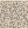 brown ceramic tile mosaic vector image vector image